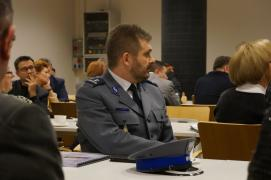Szef bytomskiej policji wśród pracodawców i przedsiębiorców