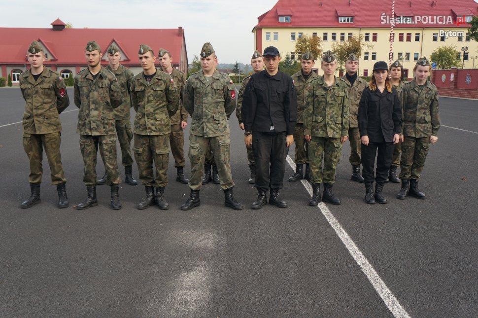 Antyterroryści w bytomskiej jednostce wojskowej