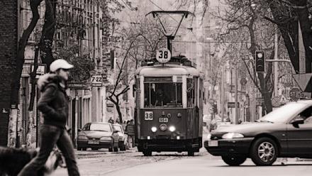 Zabytkowy tramwaj pozostaje na trasie