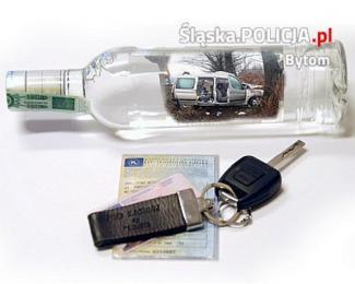 Pijany kierowca z 3 promilami