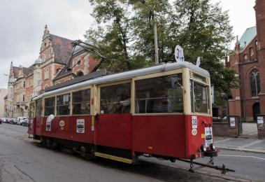 Jam session w tramwaju