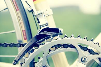 Wyścigi rowerowe w parku