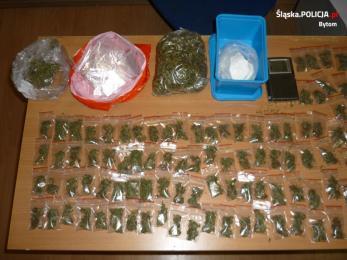 23-letni diler narkotyków i 6,5 tys. porcji narkotyków