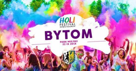 Święto kolorów w Bytomiu. Czas na Holi Festival