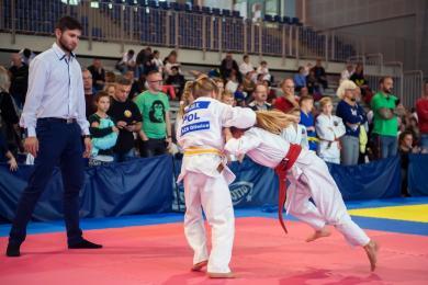 Młodzi adepci judo zaprezentowali swoje umiejętności