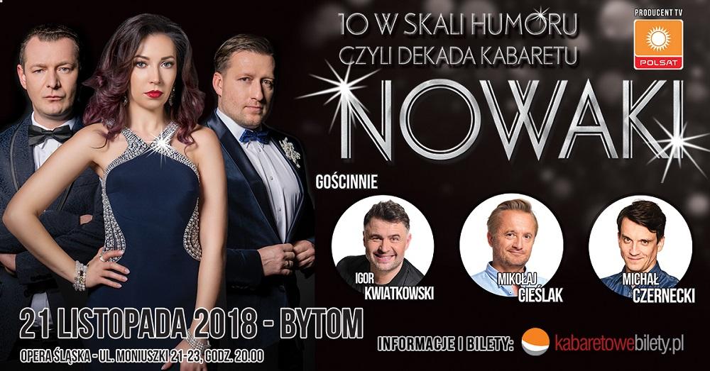 10 w skali humoru - czyli dekada Kabaretu Nowaki
