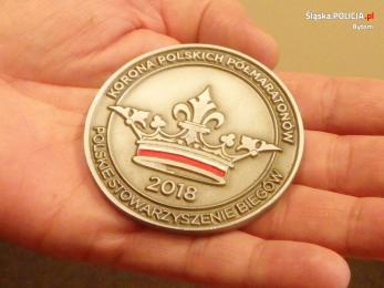 Korona Półmaratonów Polski w rękach bytomskich policjantów