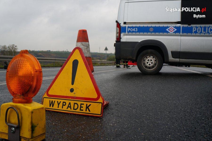 74-latek bytomianin potrącił kobietę i uciekł z miejsca wypadku