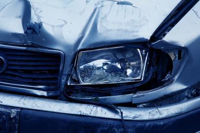 Zderzenie aut w Szombierkach
