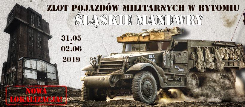 """Zlot Pojazdów Militarnych """"Śląskie Manewry"""" już wkrótce"""