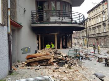 Wybuch gazu w kamienicy w Bytomiu