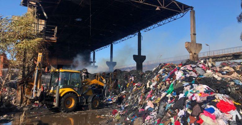 Pożar składowiska w Bytomiu: sprawcy podpalenia zatrzymani!