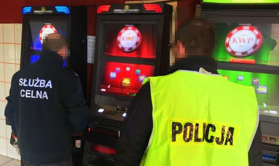 Nielegalny salon gier rozbity przez kryminalnych