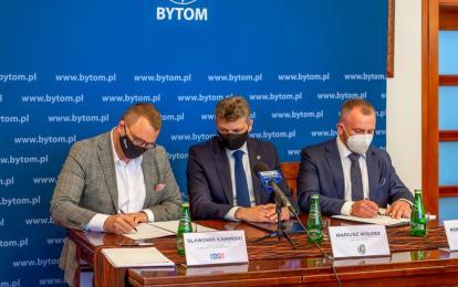 Umowa z wykonawcą podpisana. Powstanie nowy kompleks piłkarski Polonii Bytom