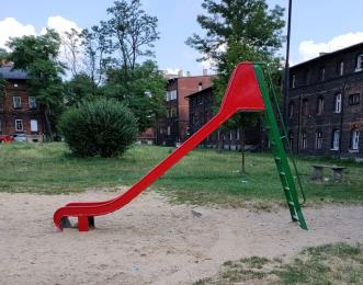 Odnowili plac zabaw w Bobrku