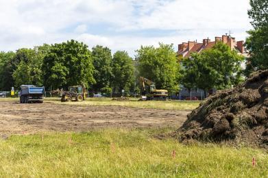 Rozpoczęła się budowa rolkowiska