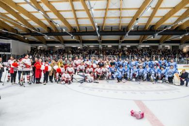 Artyści kontra TVN24. W Bytomiu odbył się hokejowy charytatywny mecz