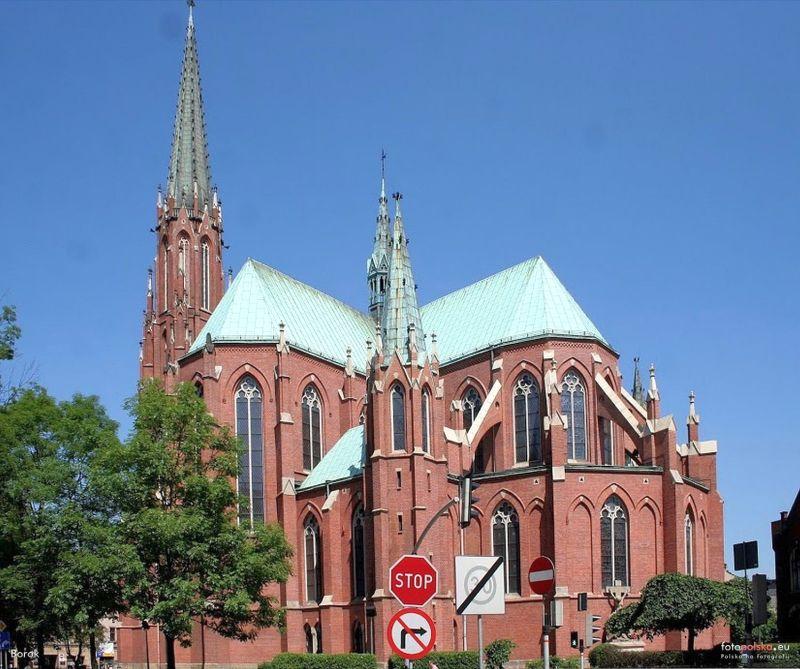 Śródmieście - Kościół pw. Trójcy Świętej
