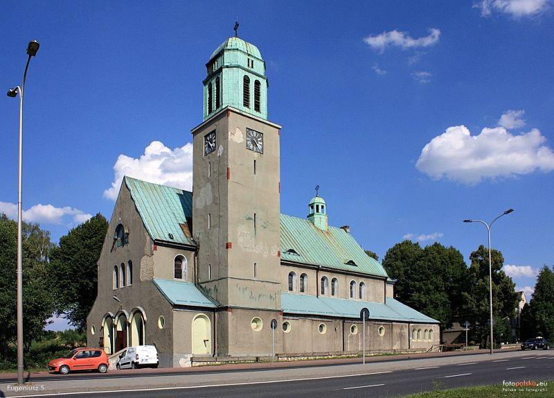 Parafia Stroszek - Kościół pw. św. Józefa Robotnika