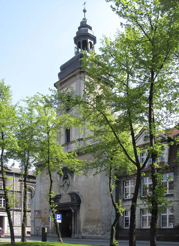 Parafia Śródmieście - Kościół pw. św. Wojciecha