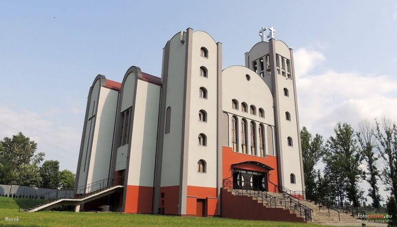 Szombierki - Kościół pw. Wniebowstąpienia Pańskiego