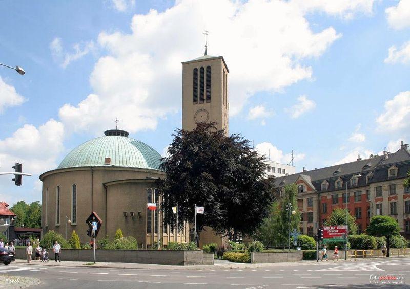 Śródmieście - Kościół pw. Podwyższenia Krzyża Świętego