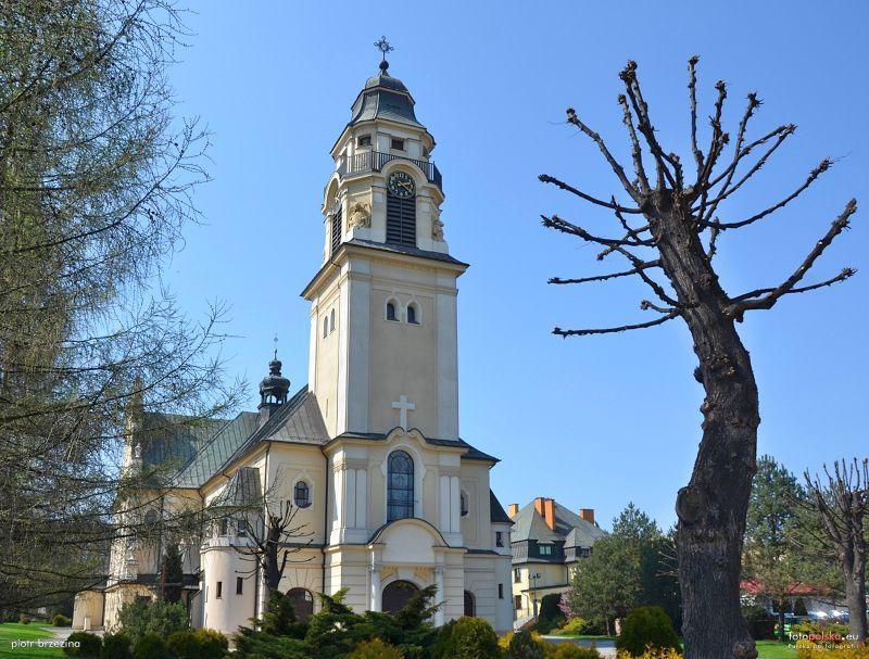 Parafia Miechowice - Kościół pw. Świętego Krzyża